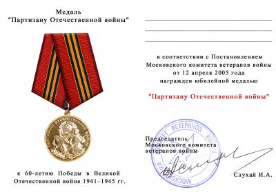 Стоимость Медалей Войны